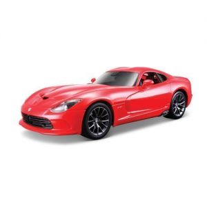 Bburago Автомодель SRT VIPER GTS (2013) (красный, 1:32)