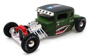 "Автомодель 1929 Ford Model A зелёный М1:24 - Серия ""AllStars"" - тюнинг MAISTO"