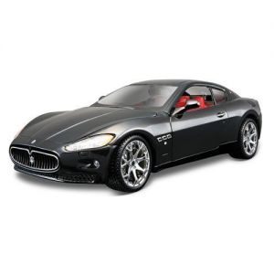 Автомодель Bburago MASERATI GRANTOURISMO (2008) (ассорти черный, серебристый, 1:24)