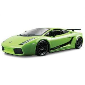 Автомодель Bburago LAMBORGHINI GALLARDO SUPERLEGGERA (2007) (ассорти зеленый, оранжевый металлик, 1:24)