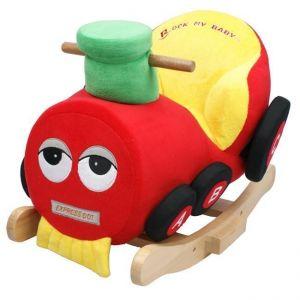 Детское кресло-качалка с музыкой - Поезд