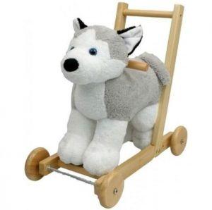 Толкач - собачка с музыкой породы Husky