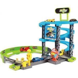 Игровой набор GoGears - Скоростной подъем, (гараж 3 уровня, 1 машинка c инерц. механизмом)