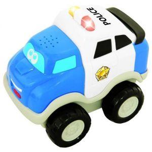 Инерционная игрушка серии Первые машинки - ПОЛИЦИЯ, свет, звук