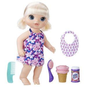 Кукла малышка с мороженным HASBRO BABY ALIVE