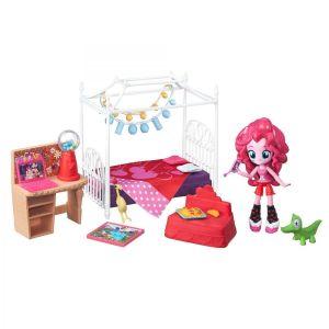 Игровой набор мини-кукол Equestria Girls 'Пижамная вечеринка' My Little Pony