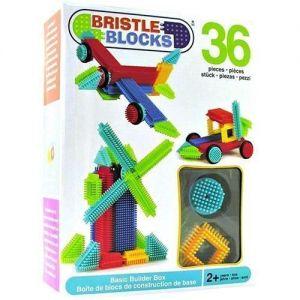 Конструктор Bristle Blocks СТРОИТЕЛЬ (36 деталей, в коробке) Battat