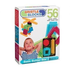 Конструктор Bristle Blocks СТРОИТЕЛЬ (56 деталей,) Battat