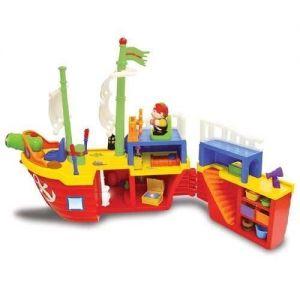Игровой набор ПИРАТСКИЙ КОРАБЛЬ (на колесах, свет, звук) Kiddieland