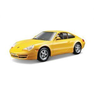 Bburago Авто-конструктор PORSCHE 911 CARRERA (желтый, 1:24)