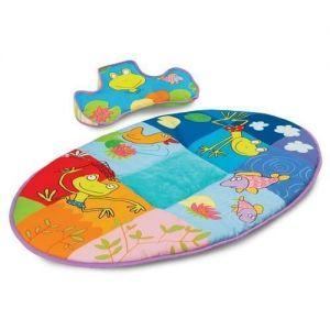 Развивающий коврик с подушечкой Taf Toys - СИНЯЯ РЕКА
