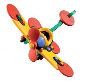 Конструктор MIC-O-MIC Самолет Стрекоза (Small Plane Dragonfly)