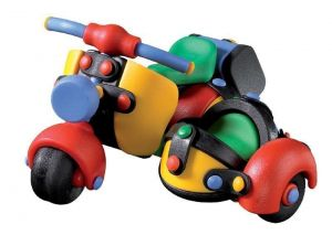Конструктор MIC-O-MIC Скутер с коляской (Motor Scooter with Side Car)