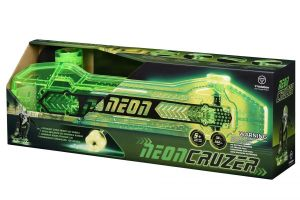 Скейтборд со светящимися колесами Neon Cruzer Зеленый N100792