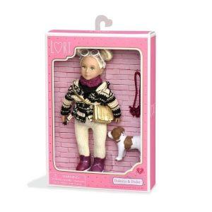 Кукла LORI с собачкой Джек Рассел 15 см LO31017Z