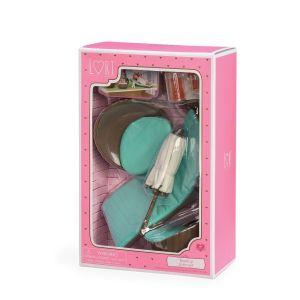 Набор для кукол LORI Мебель для террасы LO37005Z
