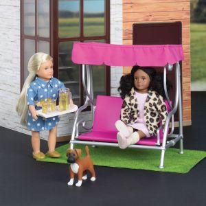 Набор для кукол LORI Мебель для улицы LO37032Z