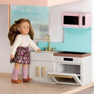Набор мебели для кукол LORI современная кухня LO37043Z