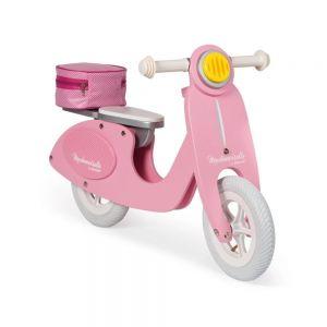 Толокар Janod Ретро скутер розовый J03239