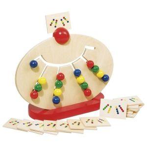 Развивающая игра головоломка goki Разноцветные шары 58970G