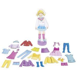 goki Магнитная игра Наряды для куклы 58531G
