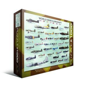 Пазл Eurographics Самолеты 2-й Мировой войны, 1000 элементов