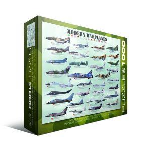 Пазл Eurographics Современные военные самолеты, 1000 элементов