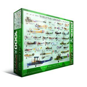 Пазл Eurographics Самолеты 1-й Мировой войны,1000 элементов