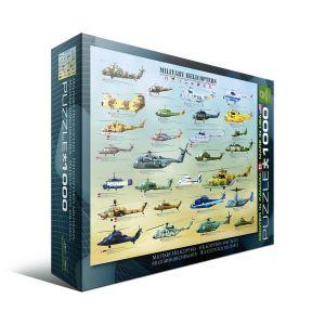 Пазл Военные вертолеты, Eurographics 1000 элементов