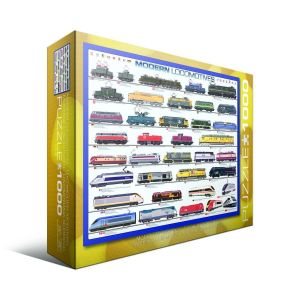 Пазл Современные локомотивы, Eurographics 1000 элементов