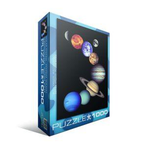 Пазл Eurographics Солнечная система,1000 элементов