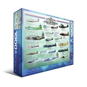 Пазл Eurographics Бомбардировщики 2-й Мировой войны, 1000 элементов
