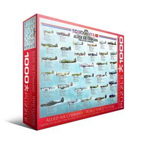 Eurographics Пазл Истребители 2-й Мировой войны, 1000 элементов
