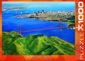 Пазл Eurographics Мост Голден Гейт, 1000 элементов