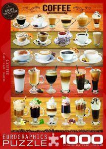 Пазл Eurographics Кофе, 1000 элементов