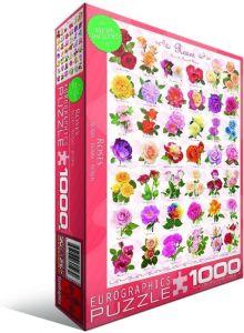 Пазл Eurographics Розы, 1000 элементов