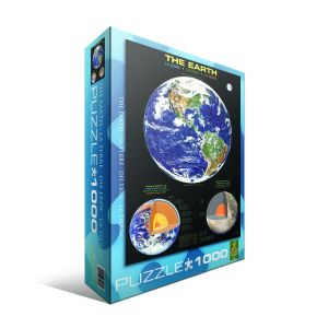 Пазл Eurographics Планета Земля, 1000 элементов