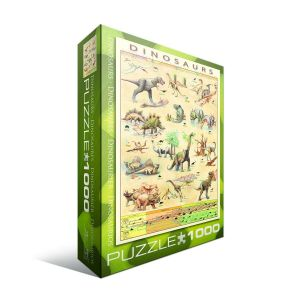 Пазл Eurographics Динозавры, 1000 элементов