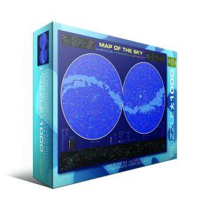 Пазл Eurographics Карта звездного неба, 1000 элементов