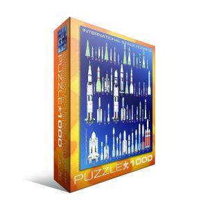 Пазл Eurographics Космические ракеты, 1000 элементов