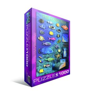 Пазл Eurographics Коралловый риф, 1000 элементов