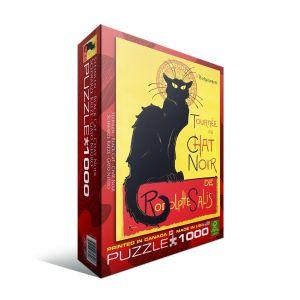 Пазл Eurographics Черный кот Теофиль-Александр Стейнлен, 1000 элементов