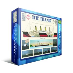 Пазл Титаник Eurographics 1000 элементов
