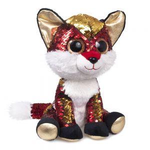 Мягкая игрушка с паетками FANCY Лисёнок Опал GLN0P