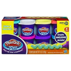 Play-Doh Hабор пластилина из 8-ми банок PD PLUS