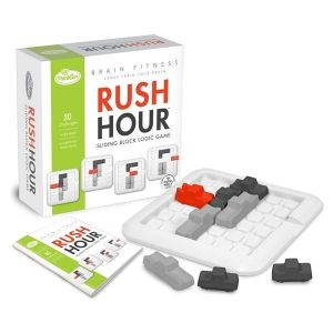 Игра-головоломка Час пик Фитнес для мозга ThinkFun Rush Hour Brain Fitness