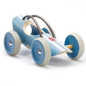 Деревянная игрушка машинка из бамбука E-Racer Le Mans