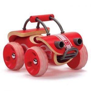 Деревянная машинка игрушка из бамбука Hape E-Offroader
