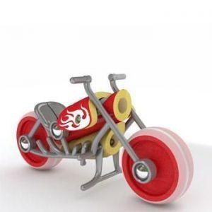 """Деревянная игрушка  мотоцикл из бамбуку """"E-Chopper"""""""