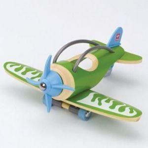 Деревянная игрушка самолет из бамбука E-Plane